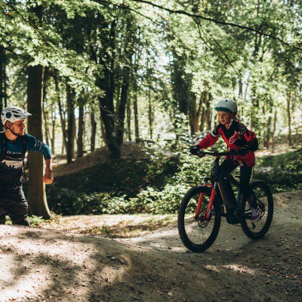 MTB Kinder Kurs Basic Fahrtechnik Rock my Trail Bikeschule