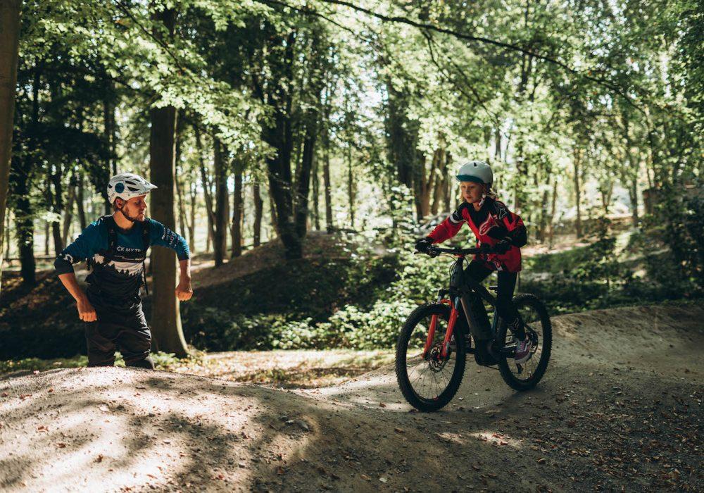 Mountainbike Kinder Kurs in Weiskirchen | Hochwald - 8-12 Jahre Kids - Rock my Trail Fahrtechnik Bikeschule