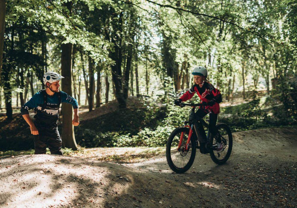 Mountainbike Kinder Kurs in Witten |Ruhrgebiet - 8-12 Jahre Kids - Rock my Trail Fahrtechnik Bikeschule GmbH - 8