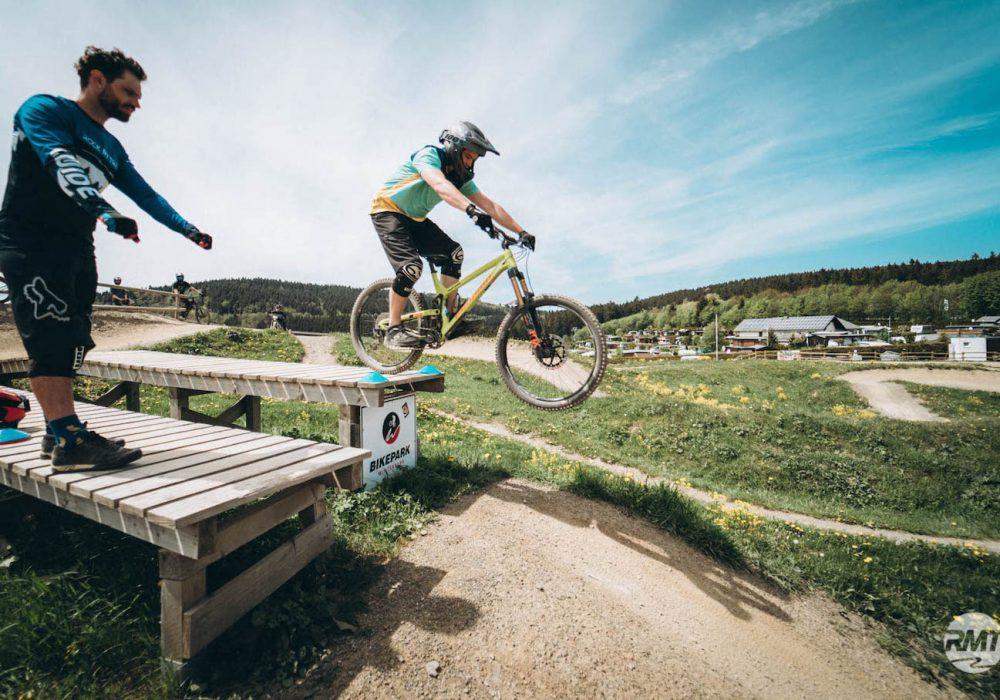 Sprung und Drop Fahrtechnik Kurs in Witten |Ruhrgebiet - Fahrtechnik Training Rock my Trail Bikeschule GmbH - 6
