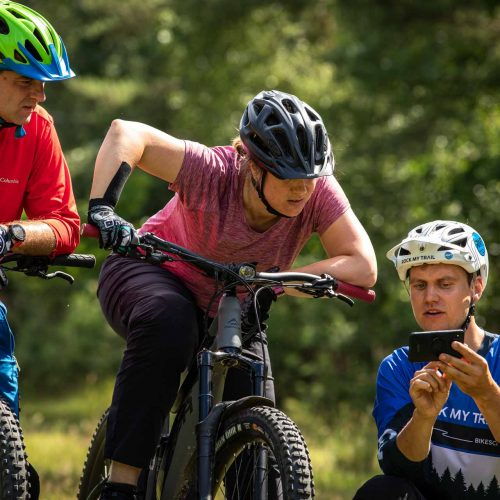 eBike MTB Privat Kurs Fahrtechnik Training Rock my Trail