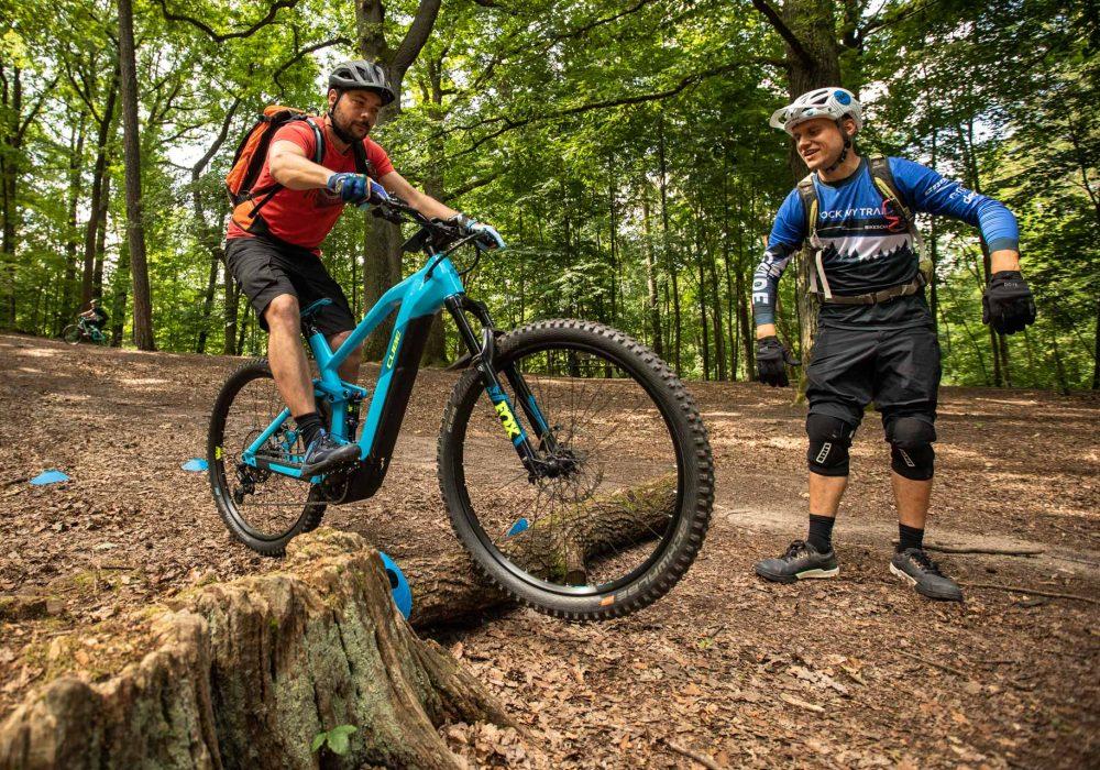 eMTB Fahrtechnik Kurs für Einsteiger in Bad Orb | Spessart - Mountainbike Basic - Rock my Trail Bikeschule - 2