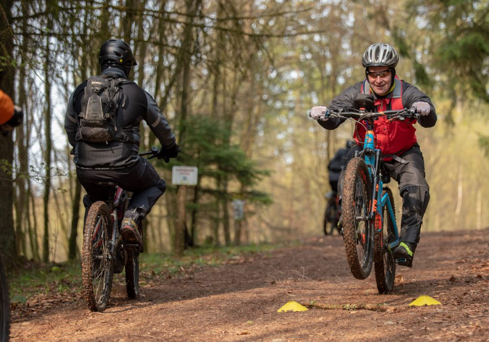eMTB Fortgeschritten Fahrtechnik Kurs in Gummersbach   Wiehl - Rock my Trail Bikeschule